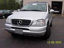 2000 Mercedes-Benz (AWD) ML 320, V6-3.2L
