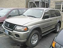 2002 Mitsubishi (4WD) Montero Sport, V6-3.0L