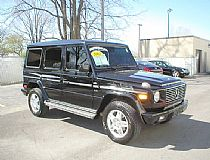 2002 Mercedes-Benz (4WD) G 500, V8-5.0L